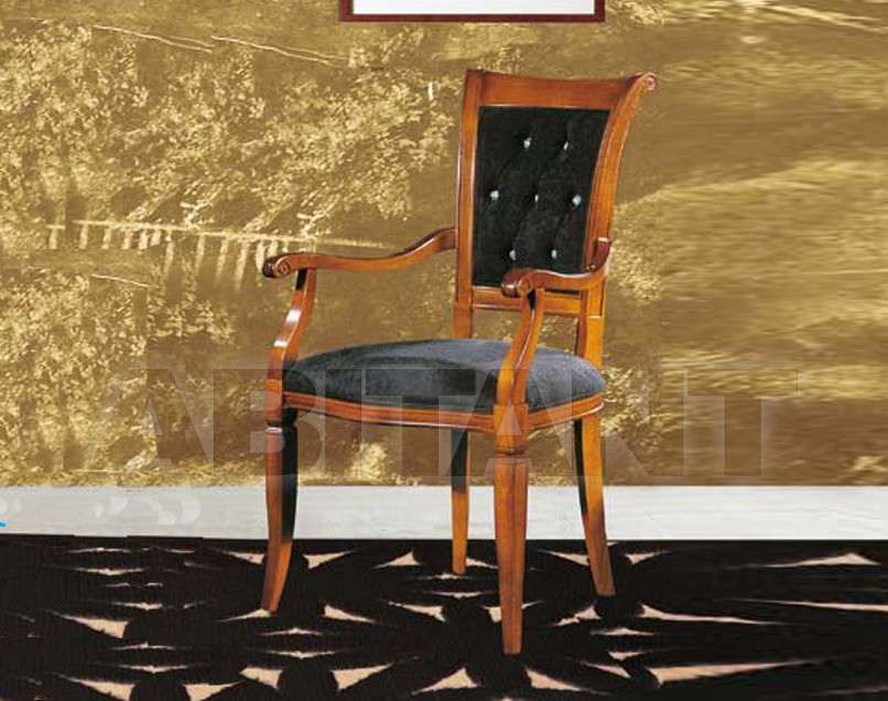 Купить Стул с подлокотниками Modenese Gastone Leondoro ct153