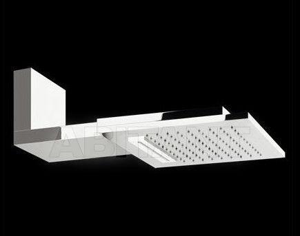 Купить Лейка душевая настенная QUADRO Gessi Spa Bathroom Collection 2012 32842 238 Mirror Steel