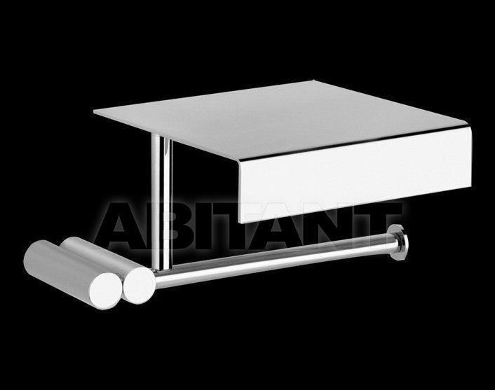 Купить Держатель для туалетной бумаги TRASPARENZE - RIFLESSI accessories Gessi Spa Bathroom Collection 2012 37349 031 Хром