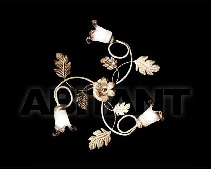 Купить Светильник Ciciriello Lampadari s.r.l. Lighting Collection 2490 avorio plafoniera 3 luci