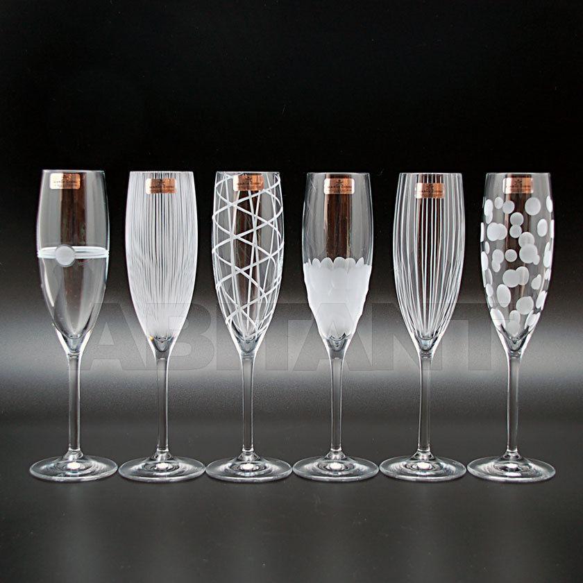 """Купить Набор 6 фужеров для шампанского 190 мл """"YNG"""" Mario Cioni 434/YSET"""