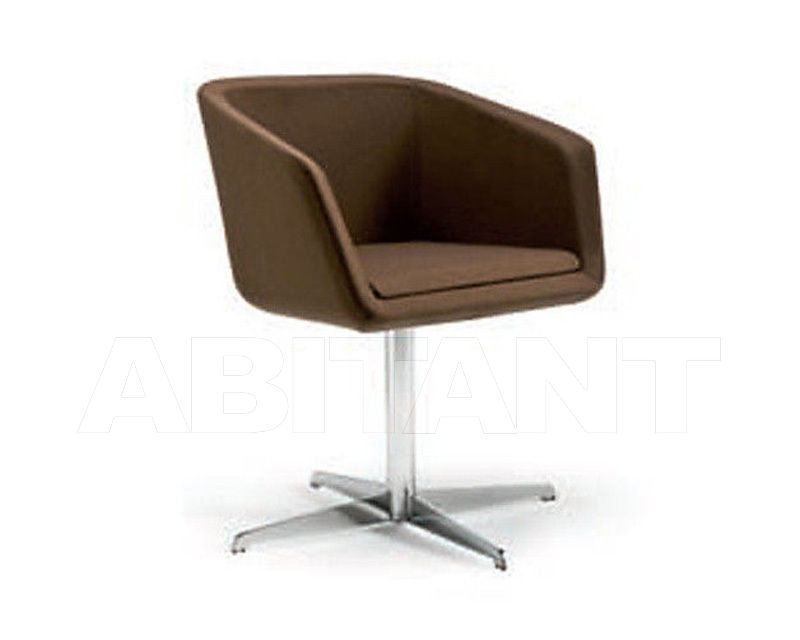 Купить Кресло Chairs&More Euro HIRO 3 brown
