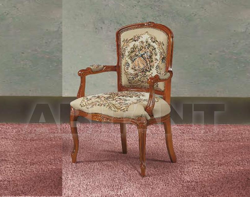 Купить Стул с подлокотниками Modenese Gastone Fenice 8390