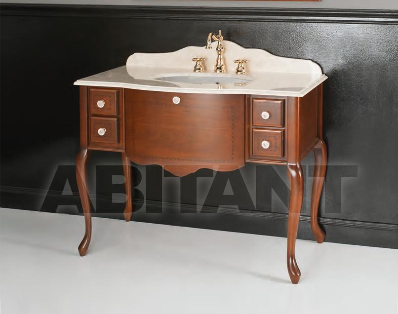 Купить Тумба под раковину Gaia Bathroomcollection BAlampeNO + MAlampe106C + Sottopiano