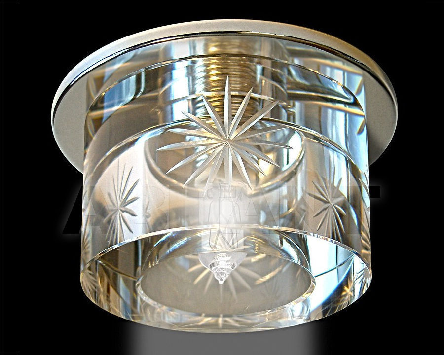 Купить Встраиваемый светильник Gumarcris  Crystal Spot Lights 2084 CR