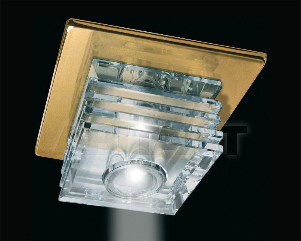 Купить Встраиваемый светильник Gumarcris  Crystal Spot Lights 1437OR