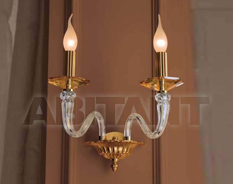 Купить Светильник настенный Euroluce Lampadari  2010 161/A2L