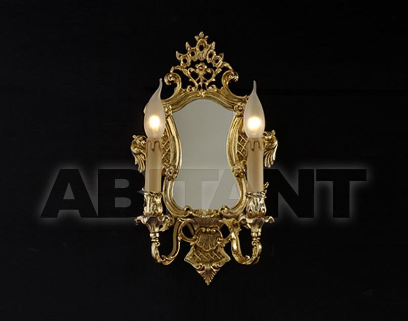 Купить Светильник настенный Arredo Luce Gold Light And Crystal 12.249/2