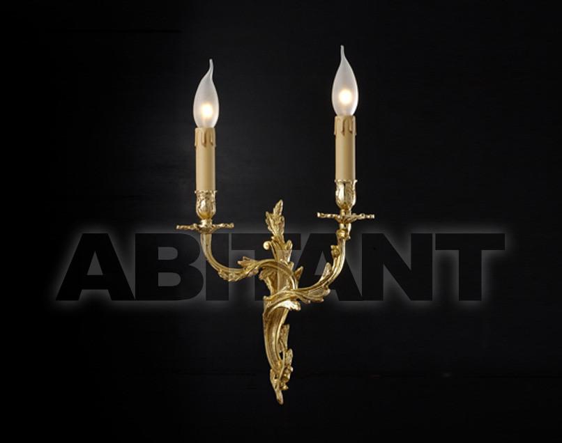 Купить Светильник настенный Arredo Luce Gold Light And Crystal 12.213/2