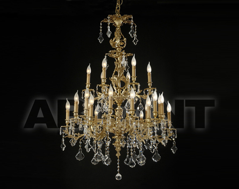 Купить Люстра Arredo Luce Fashion Crystal 12.417.C/24