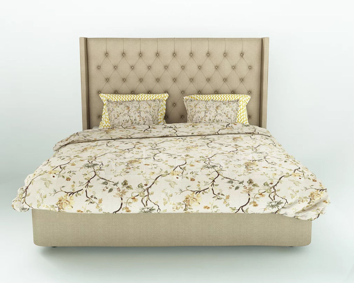 Купить Кровать Инна с капитонами