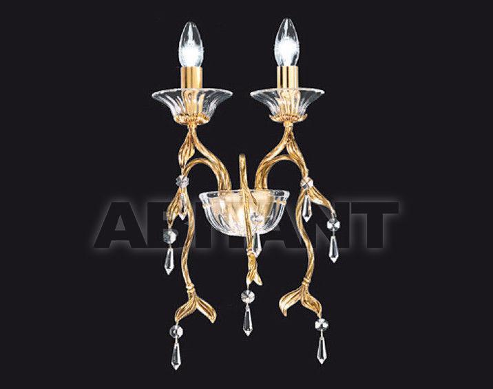 Купить Светильник настенный Arredo Luce Gold Light And Crystal 12.255/2