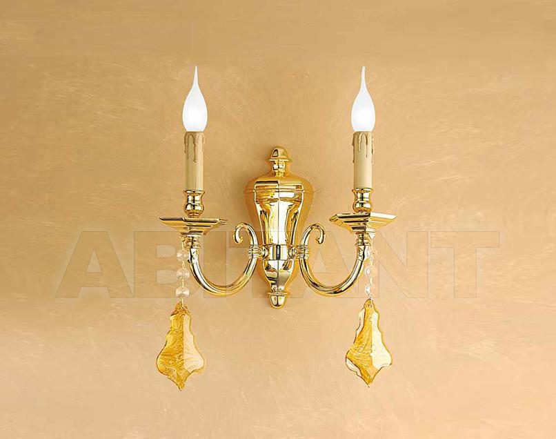 Купить Светильник настенный Arredo Luce Gold Light And Crystal 741/A2