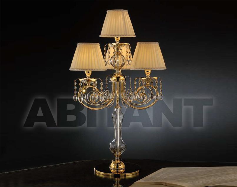 Купить Лампа настольная Arredo Luce Luxury Crystal 712/L3+1