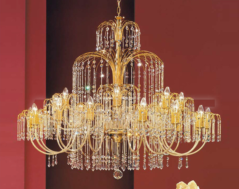 Купить Люстра Arredo Luce Royal Crystal 406/16+8