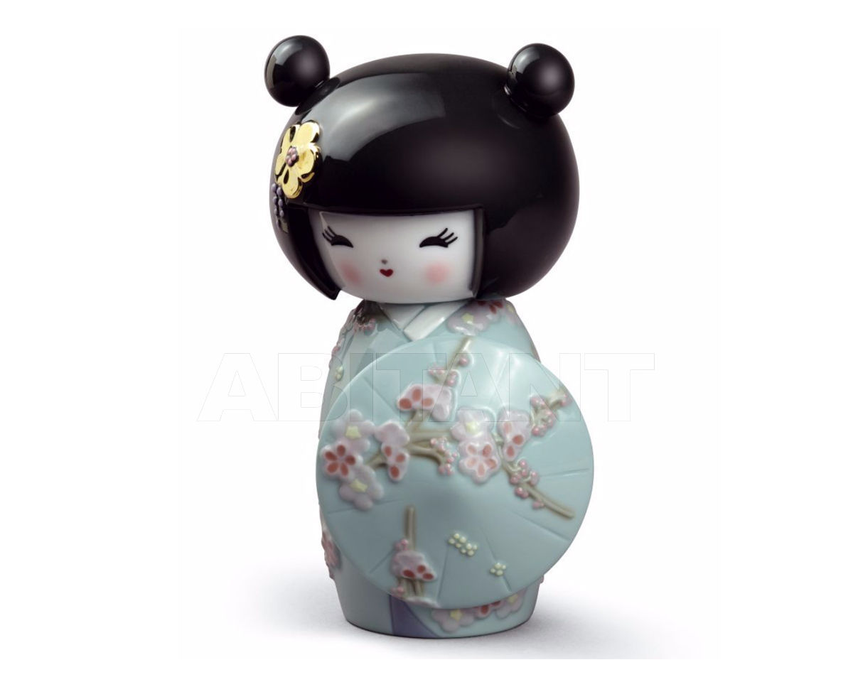 Статуэтка KOKESHI III Lladro Oriental traditions 01008710