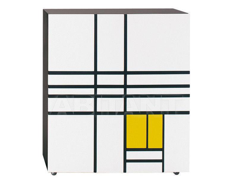 Купить Шкаф Homage to Mondrian Cappellini Collezione Sistemi PC_19