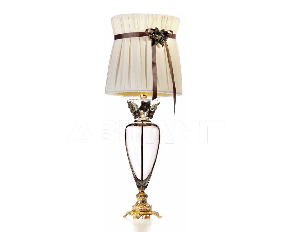 Купить Лампа настольная IL Paralume Marina  2013 1850/ORO24K/FUMÈ