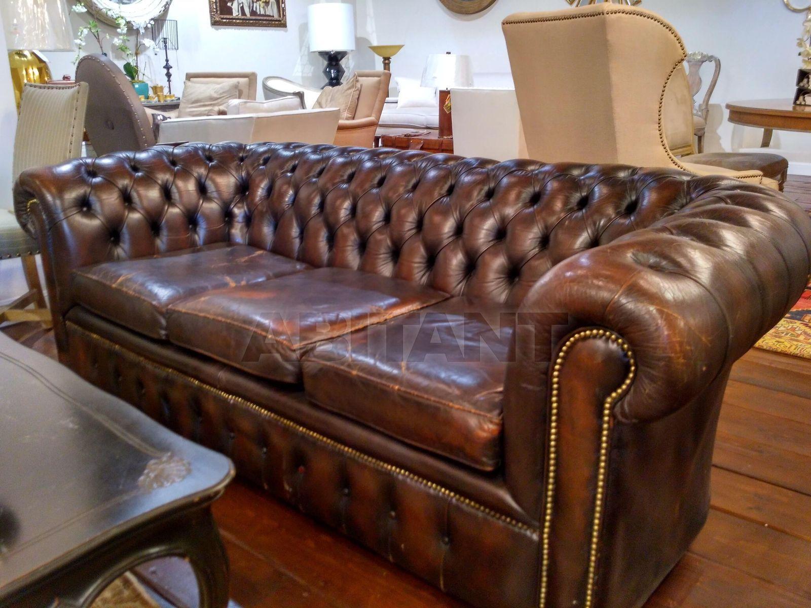 антикварный диван честер франция Antique Chester в наличии