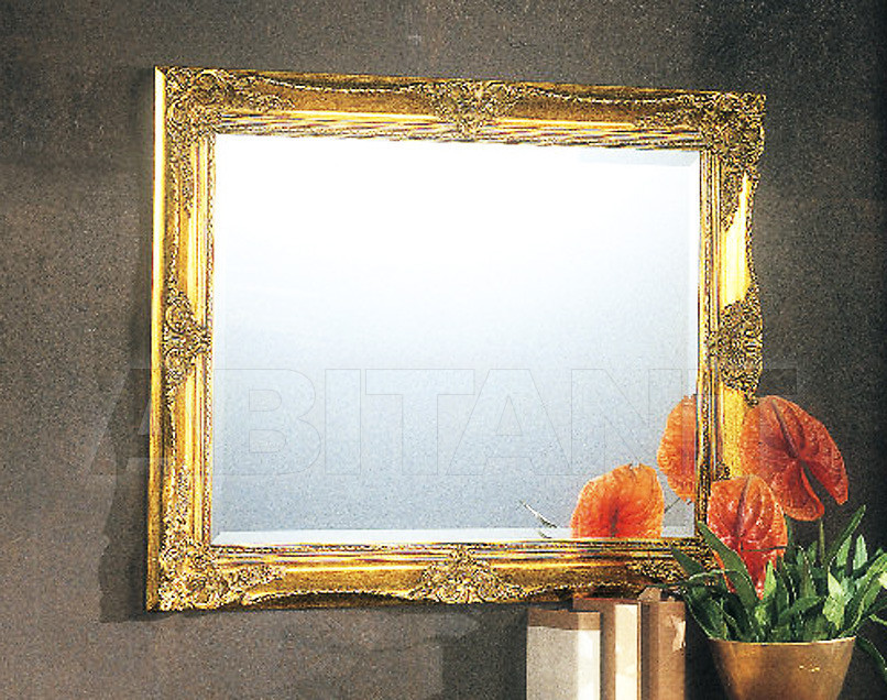 Купить Зеркало настенное Tarocco Vaccari Group Complimenti 18768