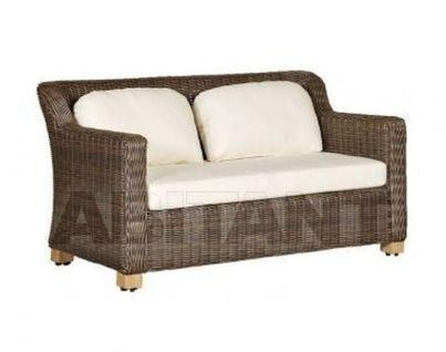 """""""Либрари"""" диван двухместный коричневый"""