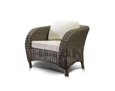 """""""Римини"""" кресло серо - коричневое"""