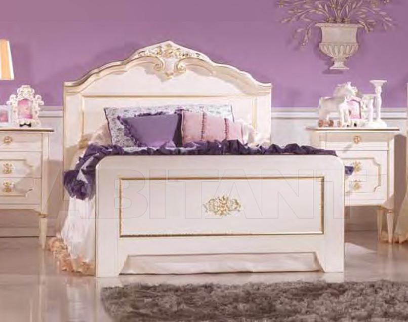 Купить Кровать Serafino Marelli Foglie & Colori O 2054