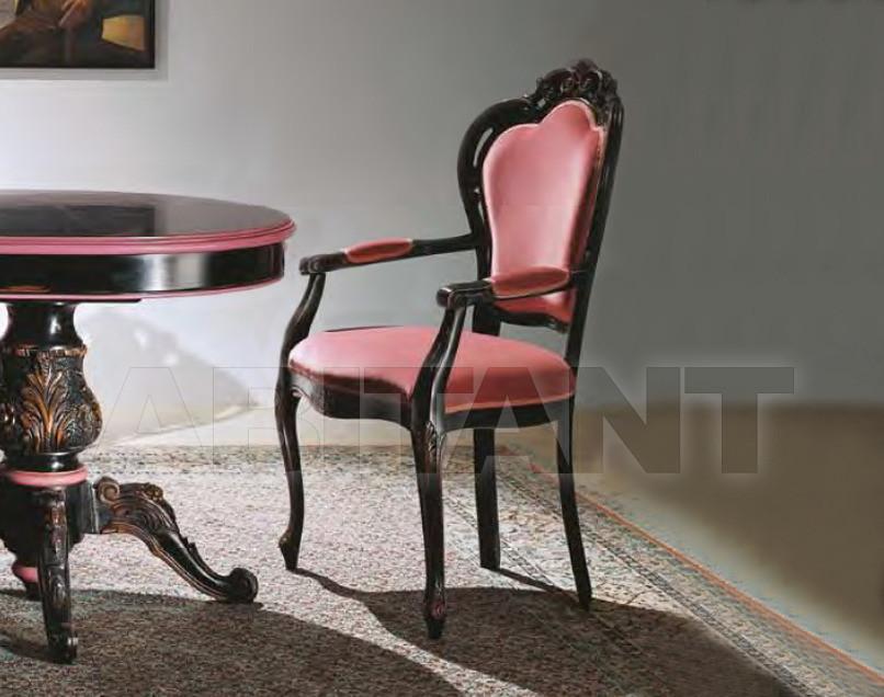 Купить Стул с подлокотниками Serafino Marelli Foglie & Colori LA 22