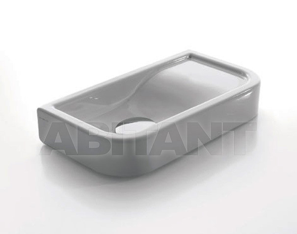 Купить Раковина накладная Ceramica Cielo S.p.A. Nero 2012 OPLA45