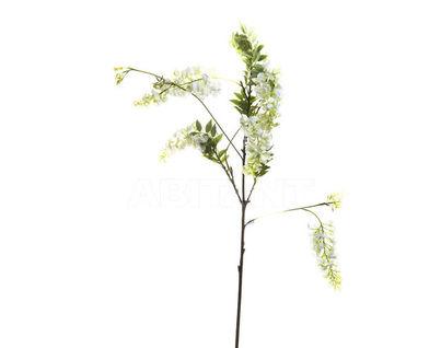 7A40N00002 Цветок гороха Виктория(мал.)белый 105см (6)