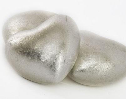LP919Silver Декоративн.элемент сердечко серебрян.