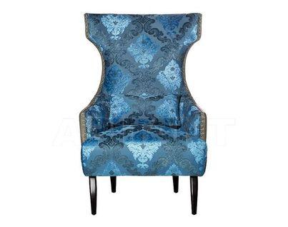 ZW-387 Кресло (искусственная кожа+синий велюр) 75х82х115