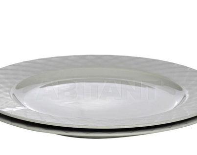 CB2741-28-F635 Тарелка серая (2) 28*28*2,5