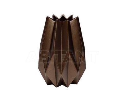 WF01-25 Ваза керамическая (цвет кофе) 18*18*25