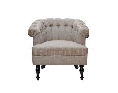 HD2109782-12945-3 Кресло, ткань серая 85*88*58