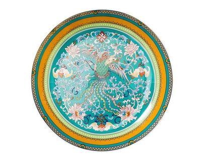 26FC TIFFANY PL20GR Тарелка десертная 20см, голубая (4)