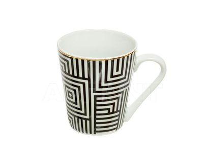 26FC VANITY CUP300BL Кружка 300мл черно-белая (4)