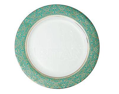 25WIN RIVIERA PL27 Тарелка обеденная 27 см,цвет бирюзовый (4)
