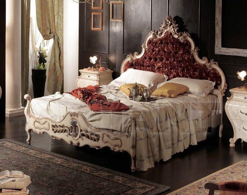 Купить Кровать Tarocco Vaccari Group Luxury P763 Rosso