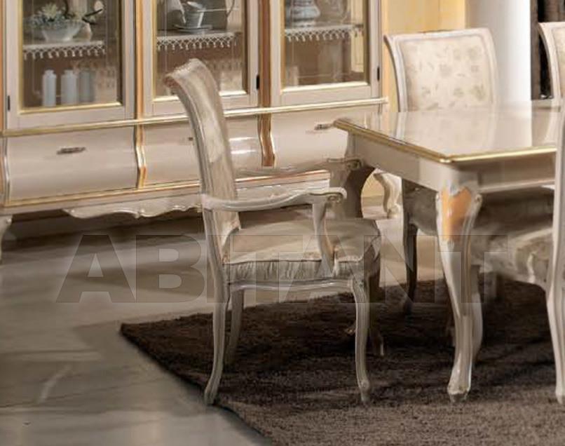 Купить Стул с подлокотниками Tarocco Vaccari Group Luxury 533R