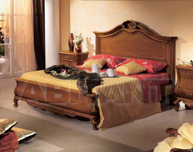 Купить Кровать Tarocco Vaccari Group Luxury T563 noce
