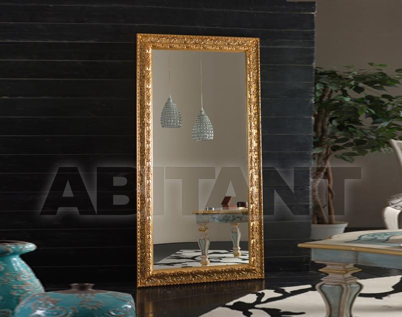 Купить Зеркало настенное Tarocco Vaccari Group Specchiere 1084GOLD