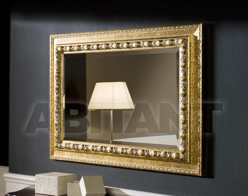 Купить Зеркало настенное Tarocco Vaccari Group Specchiere 97 GOLD