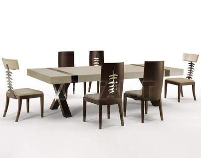 Столы с натуральной кожей