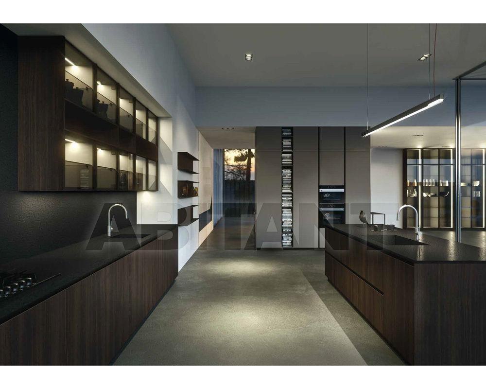 Кухонный гарнитур коричневый Arrital Cucine spa Ak_ Project 01 ...