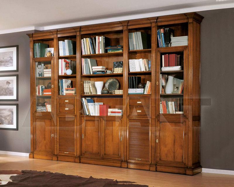 Книжный шкаф busatto mobili rk1031. классический. complement.