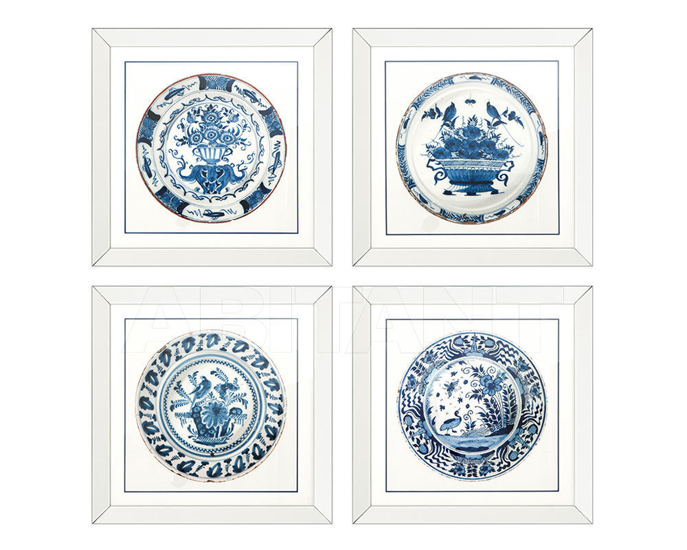 Купить Композиция Imperial China Eichholtz  Mirrors And Prints 108259