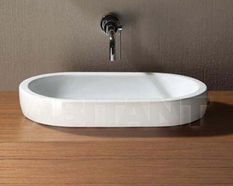 Купить Раковина накладная CIRCLE 55 BIANCO GSI Ceramica Panorama 668611