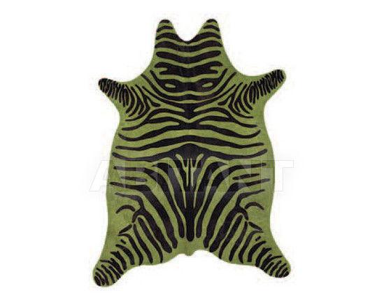 Купить Шкура Tisca Italia s.r.l. Aubusson cow 16 Zebra Verde
