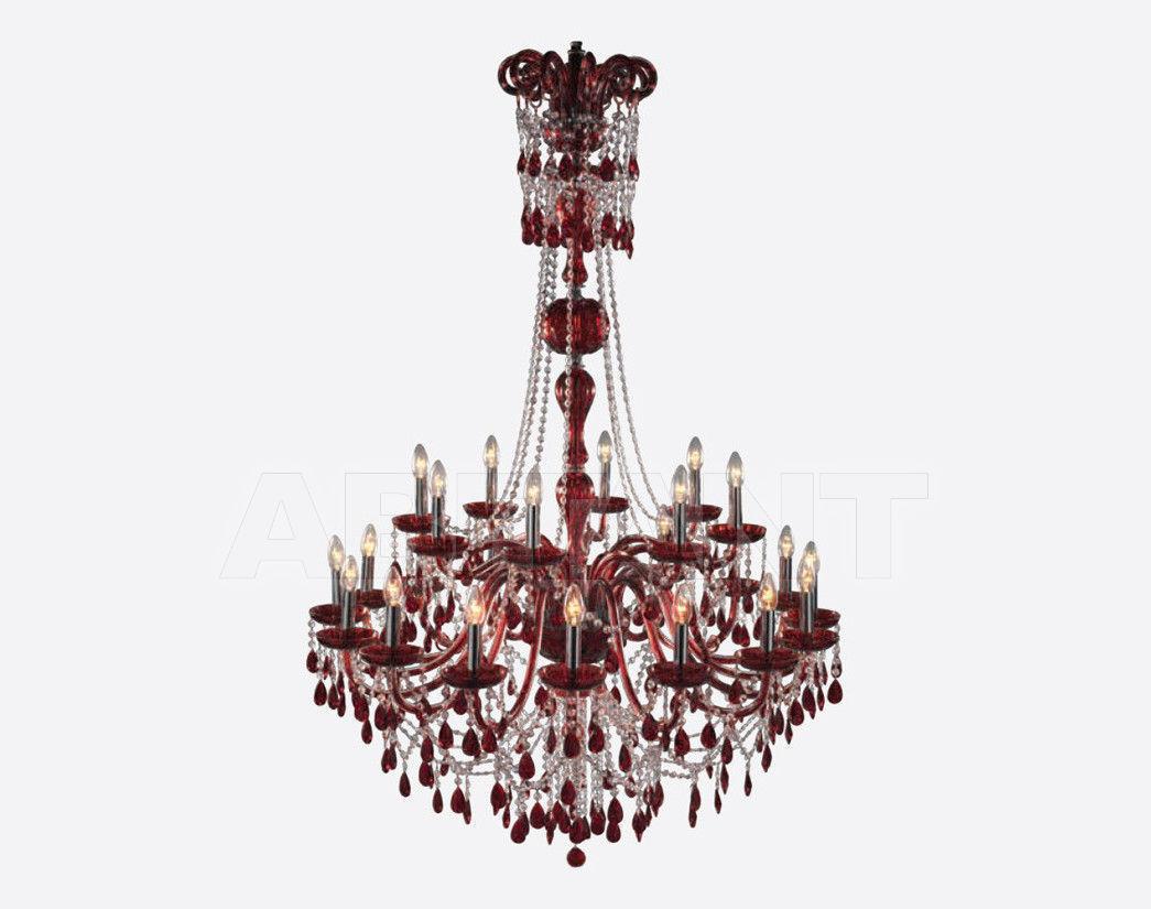 Купить Люстра VERMONT COLOUR Iris Cristal Classic 620131 16+8